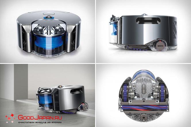Индивидуальность робота Dyson 360 eye